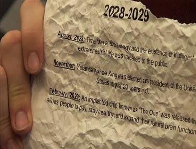 2030 yılından geldiğini iddia etmişti! Kehanetleri gerçekleşti... Şimdi sırada ne var?