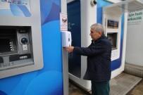 ALTINORDU - Altınordu'da ATM'lere Dezenfektan
