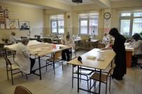 HALK EĞITIMI MERKEZI - Halk Eğitimi Merkezi'nden, Kamu Çalışanlarına Maske Desteği