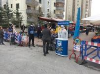 PAZAR ESNAFI - Kayseri'de Semt Pazarlarında Korona Virüs Önlemleri Alındı