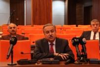 İŞ İNSANLARI - Mersin Valisi, Yardımcıları Ve Kaymakamlardan Milli Dayanışma Kampanyası'na Birer Maaş Destek