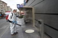 NEVŞEHİR BELEDİYESİ - Nevşehir'de Dezenfekte Çalışmaları Sürüyor