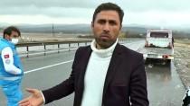 DOLU YAĞIŞI - Sivas'ta Trafik Kazası Açıklaması 4 Yaralı