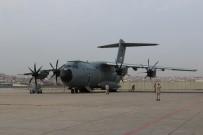 KARGO UÇAĞI - Tıbbi Yardım Taşıyan Askeri Uçak Madrid'e İndi