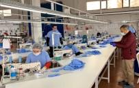 TUNCAY SONEL - Tunceli'de 200 Bin Adet Maske Üretimine Başlandı