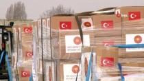 KARGO UÇAĞI - Türkiye'den İtalya Ve İspanya'ya Yardım Malzemesi
