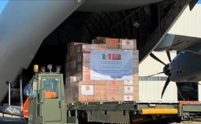 Türkiye, İngiltere'ye tıbbi yardım malzemesi gönderiyor