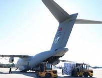 KARGO UÇAĞI - Türkiye'nin yardım paketlerindeki o detay!