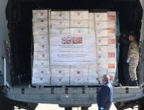 YARDIM MALZEMESİ - Onlarca ülke gibi onlarda Türkiye'den yardım istediler!