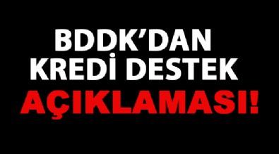 BDDK'dan kredi destek programı açıklaması!