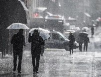 METEOROLOJI GENEL MÜDÜRLÜĞÜ - Serin ve yağışlı hava geliyor!