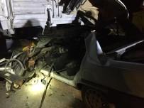 Eskişehir'de Feci Kaza Açıklaması 1 Ölü