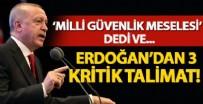 SİBER GÜVENLİK - Erdoğan'dan 3 kritik talimat!