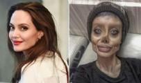 GENÇ KADIN - Zombi kız lakaplı Sahar Tabar corona virüse yakalandı! Angelina Jolie'ye benzemek isterken cezaevine girmişti...