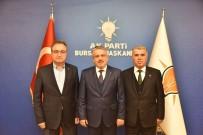 SİYASİ PARTİ - AK Parti Nilüfer, İnegöl Ve Kestel İlçe Başkanları Görevlerini Devretti