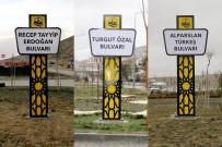 TURGUT ÖZAL - Alparslan Türkeş'in İsmi Bayburt'ta Bulvara Verildi
