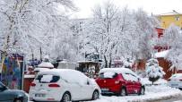 KAR YAĞıŞı - Ardahan'da Kar Yağışı Sonrası Görsel Şölen Oluştu