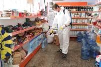 KÜTÜPHANE - Bayraklı'da 3 Koldan Dezenfeksiyon