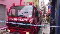 Beyoğlu'nda İş Hanında Çıkan Yangında 1 Kişi Hayatını Kaybetti