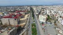MİMAR SİNAN - 'Evde Kal' Çağrılarına Uyan Adıyaman Havadan Görüntülendi