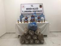 ATAKENT - Jandarmadan Kaçak Alkol Ve Tütün Operasyonu