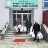MİLLİ EĞİTİM MÜDÜRÜ - Kars'ta 'Siperlik Maske'Ler Sağlık Müdürlüğü'ne Teslim Edildi