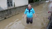 SU BASKINI - Kozan'da Evler Sular Altında Kaldı