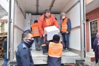 TAHIR ŞAHIN - Lapseki'de 2 Bin Aileye Yardım Kolisi Dağıtıldı