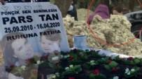 LENFOMA - Ebru Şallı oğlu Pars'ın mezarını ziyaret etti