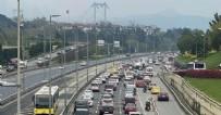 TRAFİK YOĞUNLUĞU - İstanbul'da bu sabah! Sokağa çıkma yasağı biter bitmez...