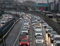 TRAFİK YOĞUNLUĞU - İstanbul'da trafik yoğunluğu!