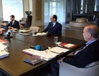 TÜRKIYE FUTBOL FEDERASYONU - Cumhurbaşkanı Erdoğan milli futbolcularla görüştü