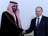 RUSYA DEVLET BAŞKANı - Putin ve Selman birbirine girdi