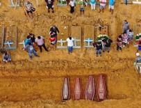OLAĞANÜSTÜ HAL - Brezilya'da ölüler toplu mezarlara gömülüyor