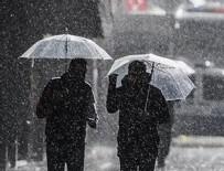 METEOROLOJI GENEL MÜDÜRLÜĞÜ - Meteoroloji uyardı: Sağanak geliyor!
