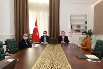 Sağlık Bakanı Koca, Tarım Ve Orman Bakanı Pakdemirli İle Bir Araya Geldi