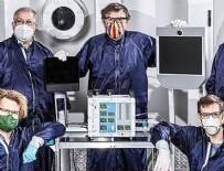 SOLUNUM CİHAZI - NASA koronavirüse el attı!