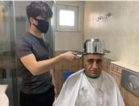 MUNZUR - Aydın Aydın, 'Anadolu tas tıraşı' önerdi, şarkı söyleyerek saçını kestirdi