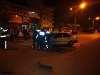 Osmaniye'de 5 Kişinin Yaralandığı Kaza Anı Güvenlik Kamerasında
