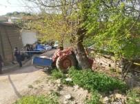 Traktör İle Ağaç Arasında Sıkışan Adam Hayatını Kaybetti