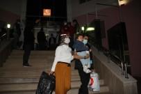 Çorum'da Karantinaları Biten 315 Kişi Memleketlerine Uğurlandı