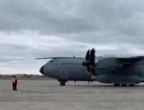 TIBBİ MALZEME - Türkiye'nin yardım uçağı ABD'de!