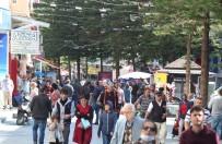 YAŞLI KADIN - Antalya Sokaklarında Sıcak Hava Yoğunluğuna Polis Uyarısı