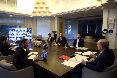 Başkan Altay Cumhurbaşkanı Erdoğan İle Görüştü