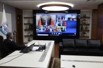 İL BAŞKANLARI - Başkan Büyükkılıç, Cumhurbaşkanı Erdoğan'ın Belediye Başkanları İle Tele Konferans Sistemiyle Yaptığı Toplantıya Katıldı