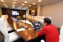 TUZLA BELEDİYESİ - Başkan Dr. Şadi Yazıcı, Korona Virüsle Mücadele Çalışmaları İçin Video Konferans Düzenledi