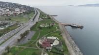 ANADOLU YAKASI - Boş Kalan Anadolu Yakası Sahil Şeridi Havadan Görüntülendi