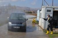 HAYVAN PAZARI - Bünyan Belediyesi Vatandaşların Araçlarını Ücretsiz Dezenfekte Ediyor