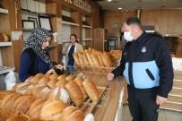 EL TEMİZLİĞİ - Gaziemir'de Ekmek Fırınlarına Korona Virüs Denetimi
