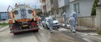 GÜNEŞLI - Gürsu'da Caddeler Dezenfekte Ediliyor